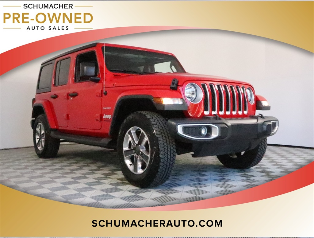 Pre-Owned 2019 Jeep Wrangler Unlimited Sahara