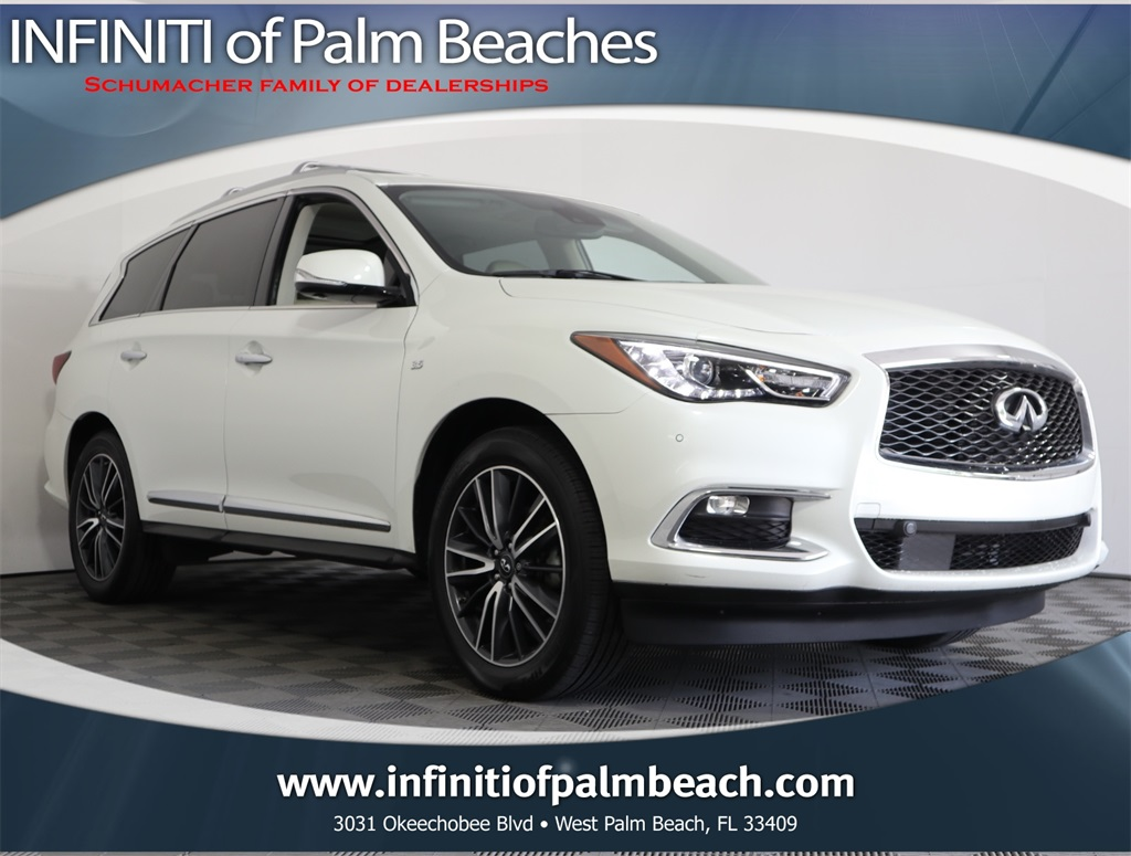 Pre-Owned 2017 INFINITI QX60 Deluxe Technology Package