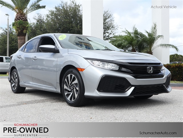 Pre-Owned 2017 Honda Civic LX