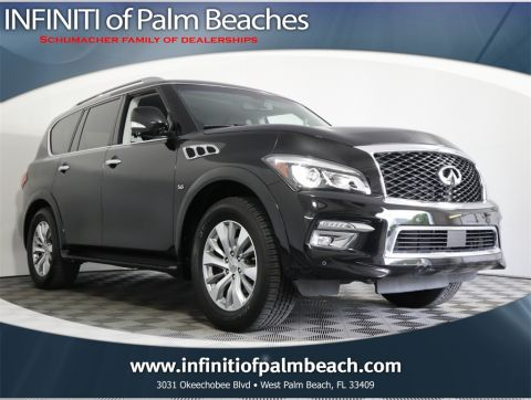 Pre-Owned 2016 INFINITI QX80 Driver's Assistance Package